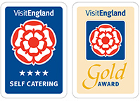 Awarded the 4 Star Self Catering and Gold Award